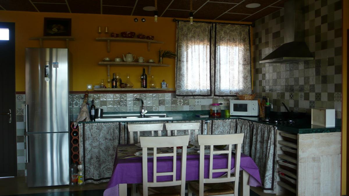 Cocina Casa Rural Los Pájaros Montes de Toledo