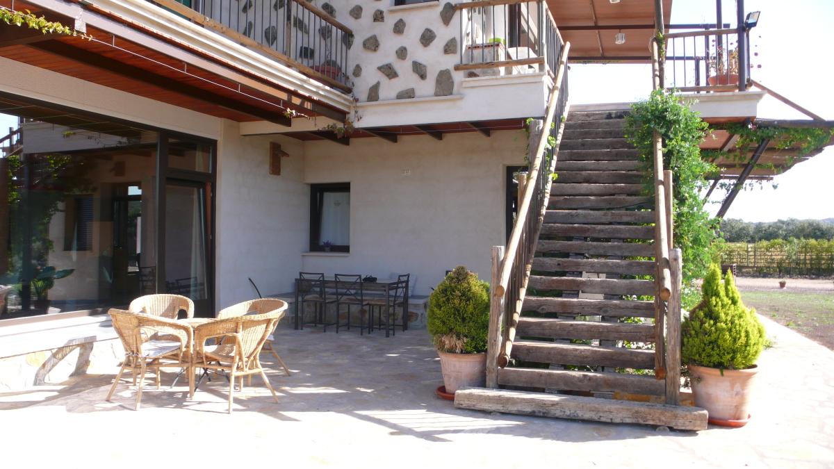 Exterior Casa Rural Los Pájaros Montes de Toledo